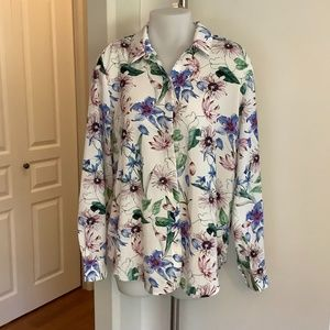 H&M Floral Shirt Sz 12
